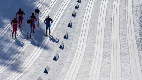 Ski nordisch: Skispringen Grossschanze, 1. Durchgang | TV-Programm SRF 2